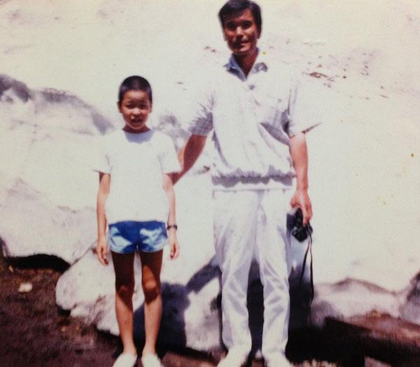 玉川太福の子どもの頃の写真