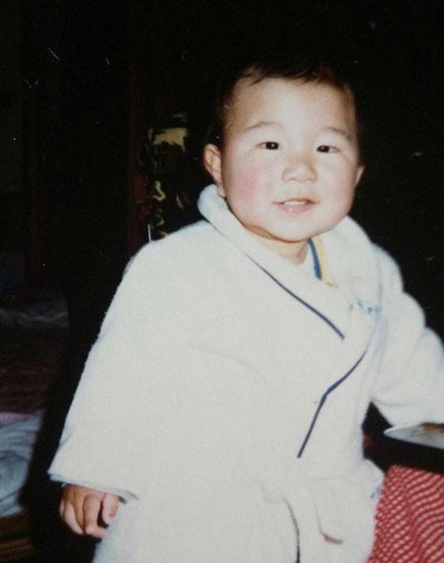 瀧川鯉八の子供の頃の写真